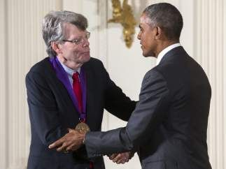 Stephen King y Obama