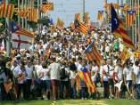 Manifestación de la Diada 2015