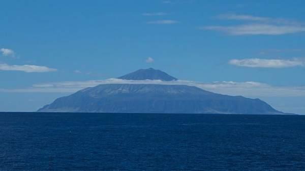 Tristan da Cunha, desde el mar