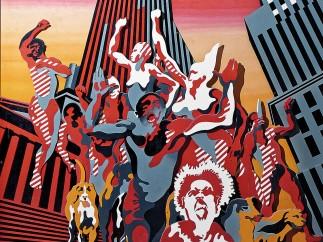 Henri Cueco� - Les Hommes Rouges�1968-9