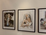 Desnudo de Marilyn Monroe en el Museo de Arte Erótico Mundial de California.