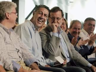 Xavier García Albiol y Rajoy
