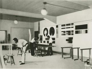 Mural workshop, Bauhaus Dessau, 1926, (photographer unknown)