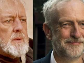 Jeremy Corbyn, igual que Obi-Wan Kenobi.
