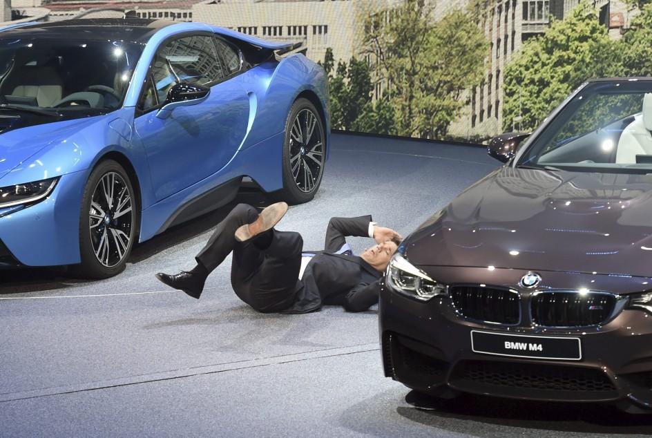 El CEO de BMW, por los suelos