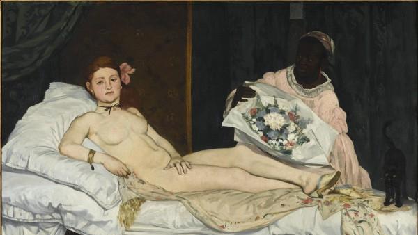 Edouard Manet (1832-1883) - Olympia, 1863