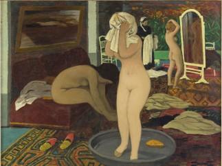 Félix Vallotton (1865-1925) - Femmes à leur toilette, 1897