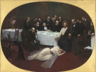 Jean Béraud (1849-1935) - La Madeleine chez le Pharisien, 1891