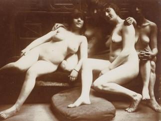 Fran�ois-Rupert Carabin (1862-1932) - Groupe de quatre femmes nues, entre 1895 et 1910