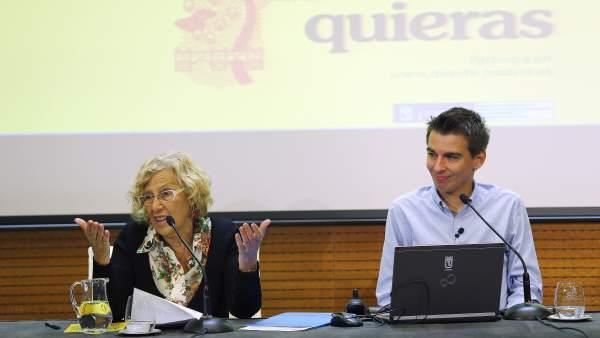 Carmena presenta la web de participación ciudadana