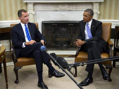 Felipe VI y Barack Obama