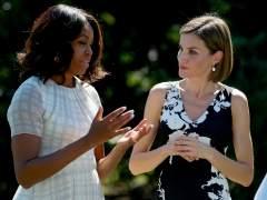 Letizia recibe este jueves a Michelle Obama