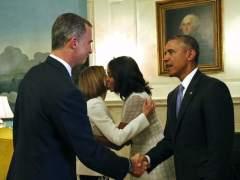 """Felipe de Borbón, un """"asiduo"""" en la Casa Blanca como rey y como príncipe"""