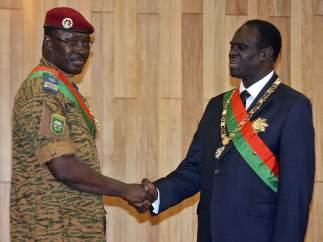 Presidente y primer ministro de Burkina Faso