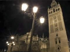 La torre de la Giralda de la Catedral de Sevilla