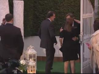 Rajoy asiste al banquete de la boda de Maroto