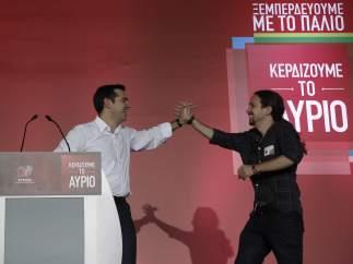 Tsipras e Iglesias