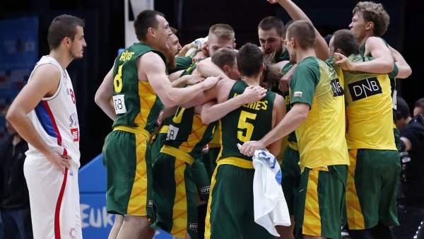 Lituania, a la final