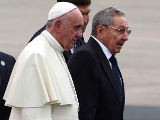El papa, en Cuba