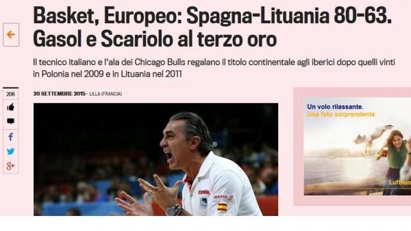 Web de la Gazzetta