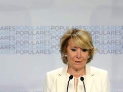 "Aguirre: ""No ha habido que yo sepa financiación ilegal del PP de Madrid"""