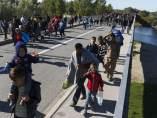 Hungría cierra el tráfico a refugiados