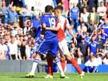 Diego Costa ante el Arsenal