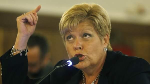 Milagrosa Martínez declara en el juicio de Fitur