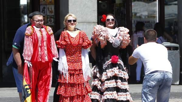 Récord de turismo en España