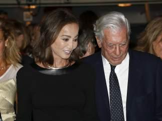 Mario Vargas Llosa y Isabel Preysler