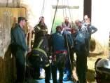 Rescate de los bomberos de Albecete