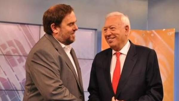 Margallo y Junqueras