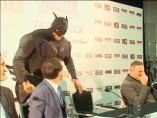 Tyson Fury vestido de Batman
