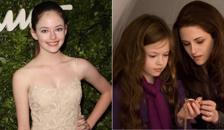 La hija de Bella y Edward Cullen en 'Crepúsculo' pega el estirón