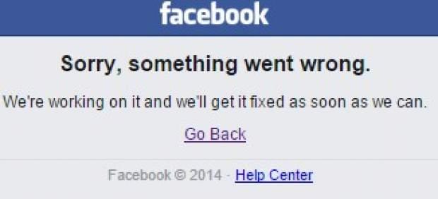 Facebook vuelve a caerse por tercera vez en poco más de una semana