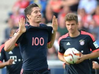 Gol de Lewandowski