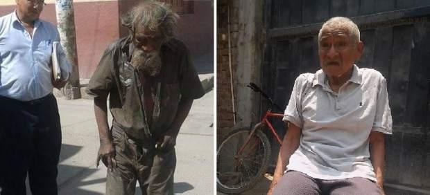 El cambio radical de un mendigo gracias a la solidaridad de un pueblo peruano