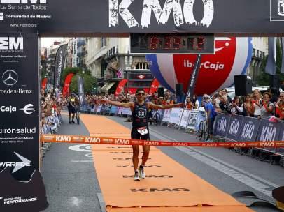 El triatleta Héctor Guerra
