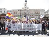 Manifestacion en Madrid en contra de la monarquía y a favor de la república en España