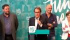 Ver v�deo Mas tiende la mano a la CUP para ser presidente