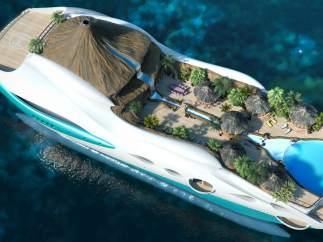 Una isla paradisíaca