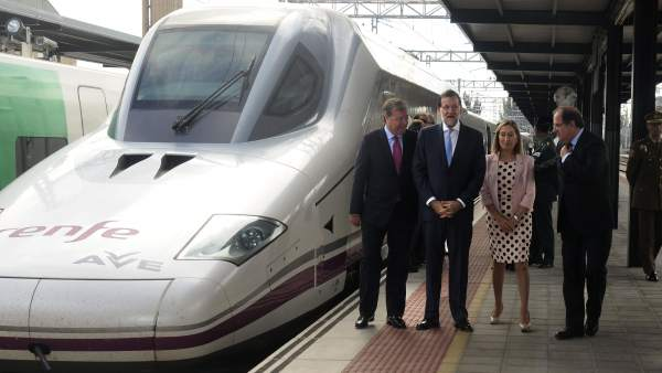 Inauguración del AVE a León.