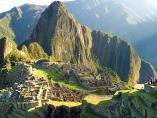 Idílico paisaje de Machu Picchu