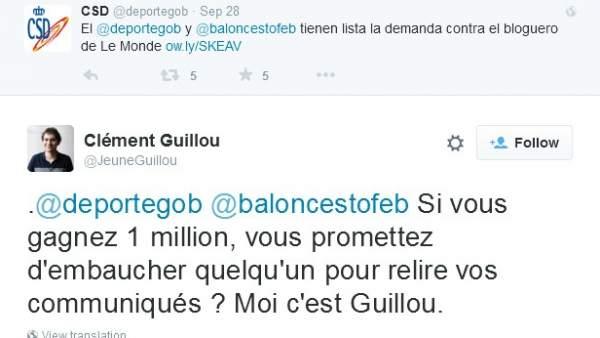 Tuit de Clément Guillou