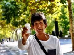 Saturnino, ya ha recibido el medicamento contra la hepatitis C.
