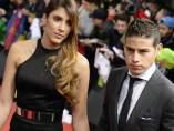James y su esposa