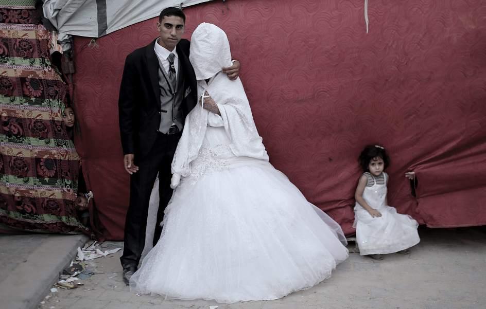 Boda en Gaza