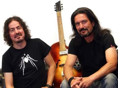 Pedro Andreu y Joaquín Cardiel