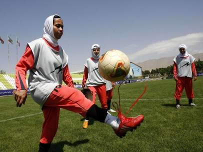 Futbolistas iraníes