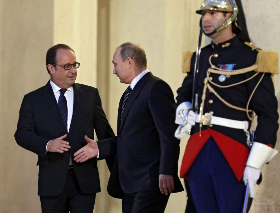 Francia elevó el tono ante Rusia